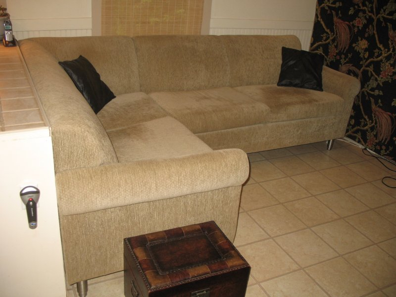 Prevent A Couch From Sliding Around On A Slippery Laminate