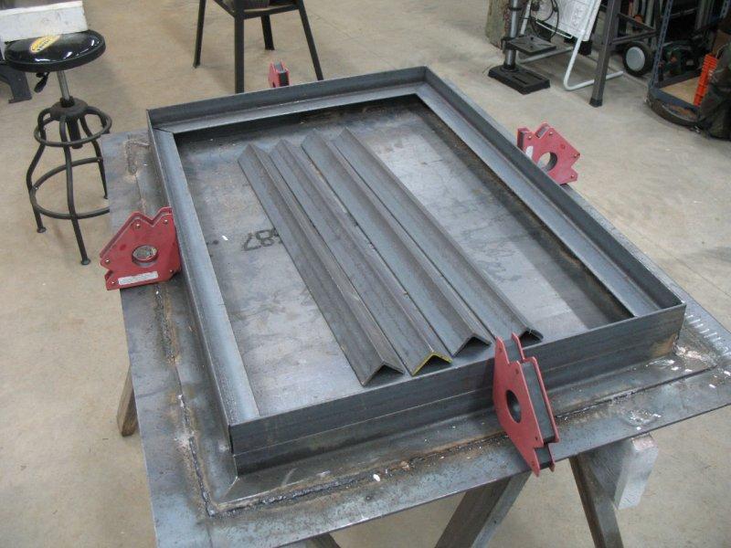 Diy Folding Welding Table Table Design Ideas