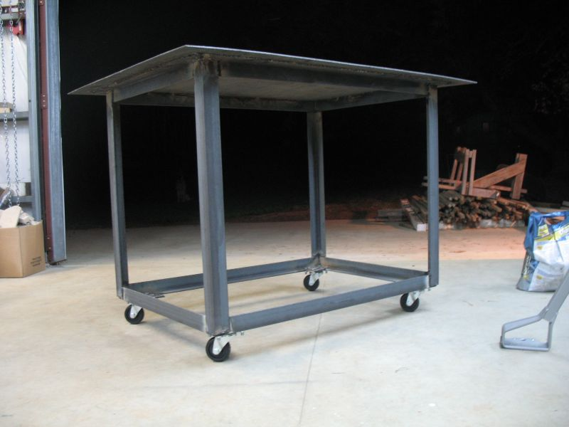 steel welding bench plans